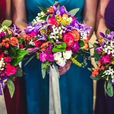 Floral Lounge Jewel bouquets