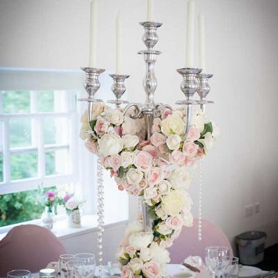 Floral Lounge Harewood house candelabra