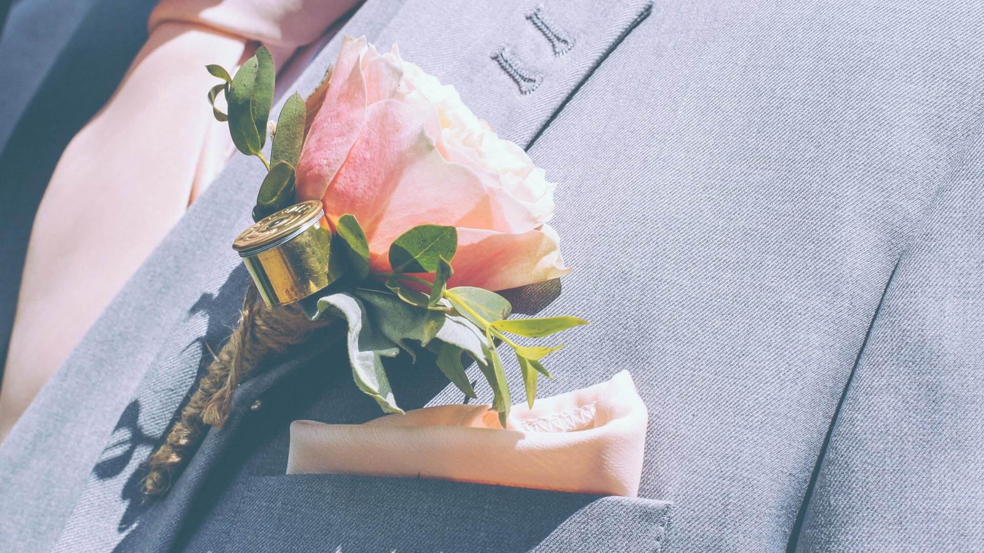 Wedding Flowers Welton Rupert & Hollie Wedding Welton buttonhole