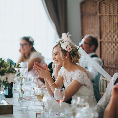 Bride Top table Flowers