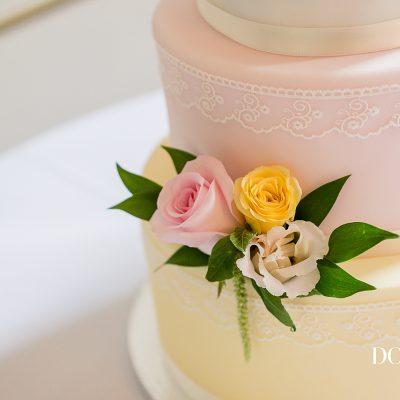 Cake flowers Lemon