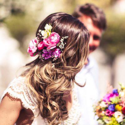 Floral Hair Flowers