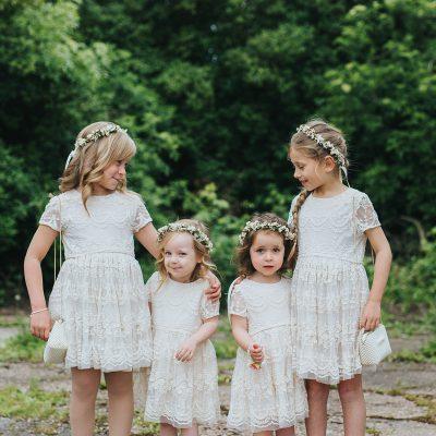 Flowergirls Floral Crown