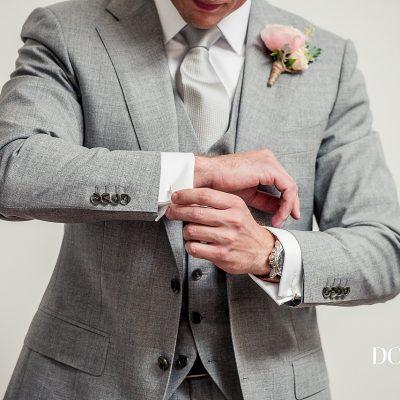 Grey Suit Groom