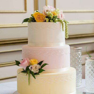 Lemon & Pink Cake
