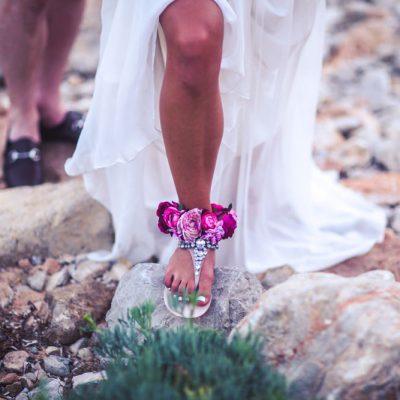 Sandals Bride