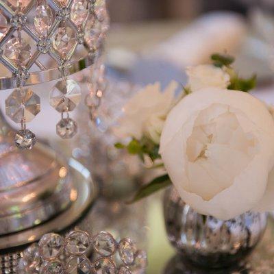 Suzi & Matthew Peony vase arrangement
